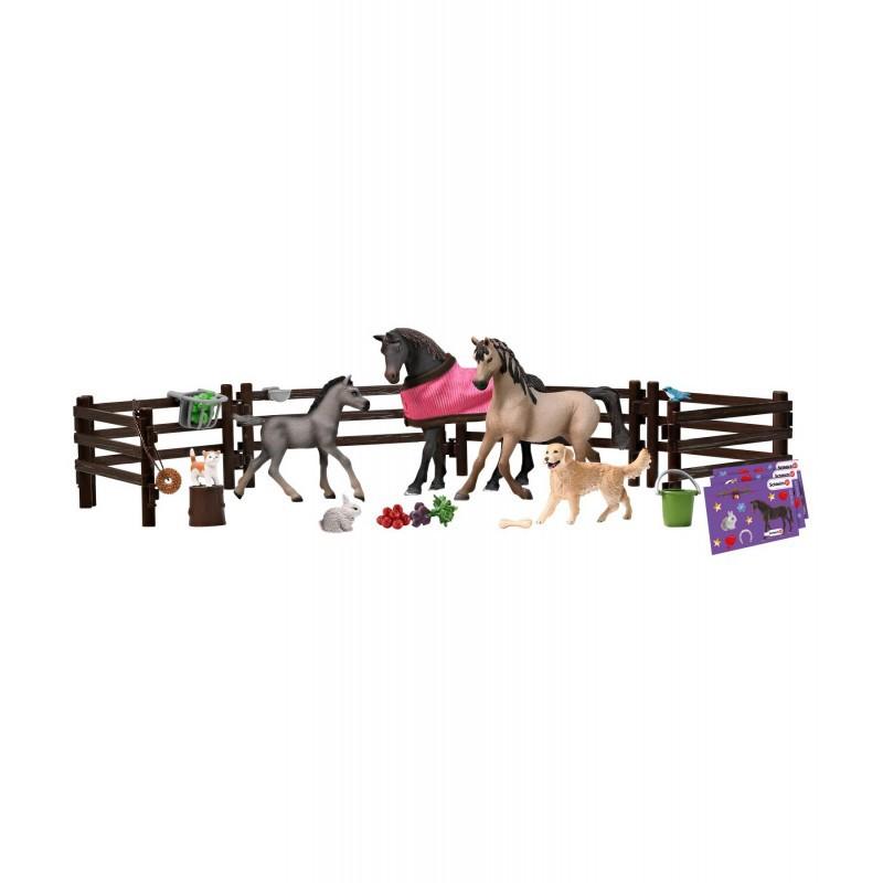 Calendrier de l avent Schleich, Horse Club 2020 : Schleich chevaux