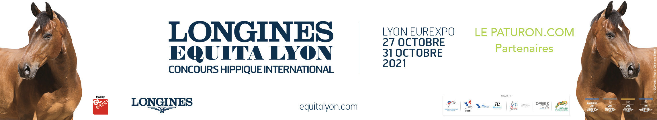 Equita Lyon 2021 Longines Equita Lyon - Le Paturon