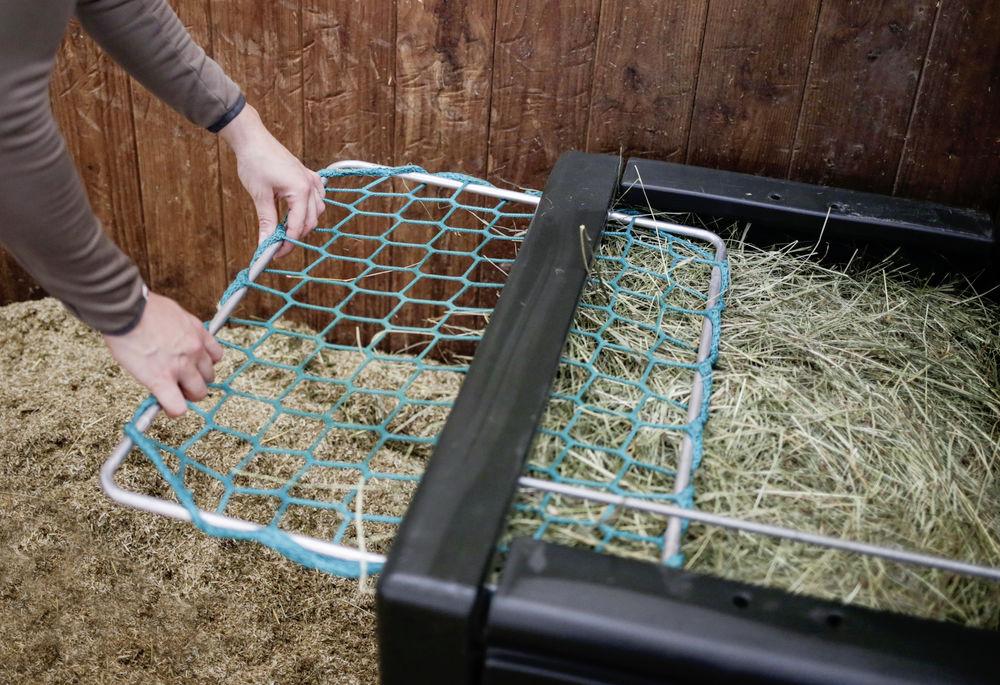 Râtelie Haybox anti poussière cheval - Le Paturon