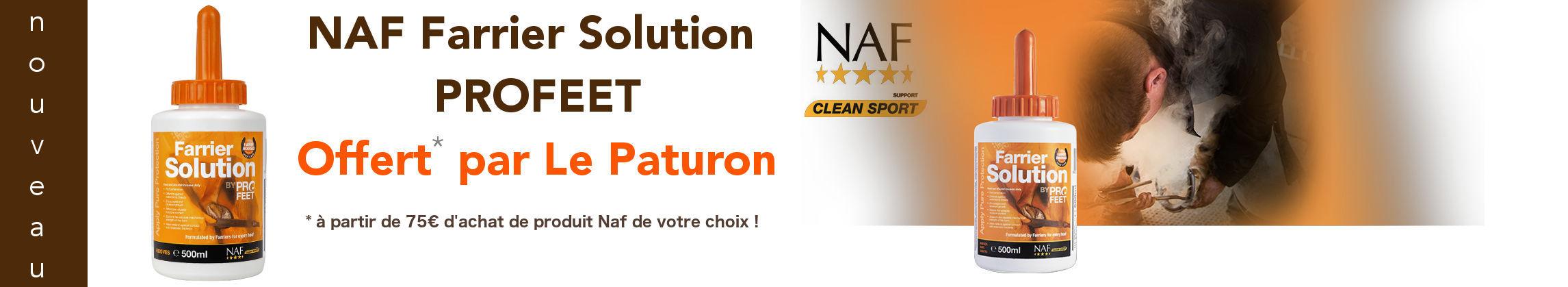 Offre Le Paturon Naf Profeet Solution