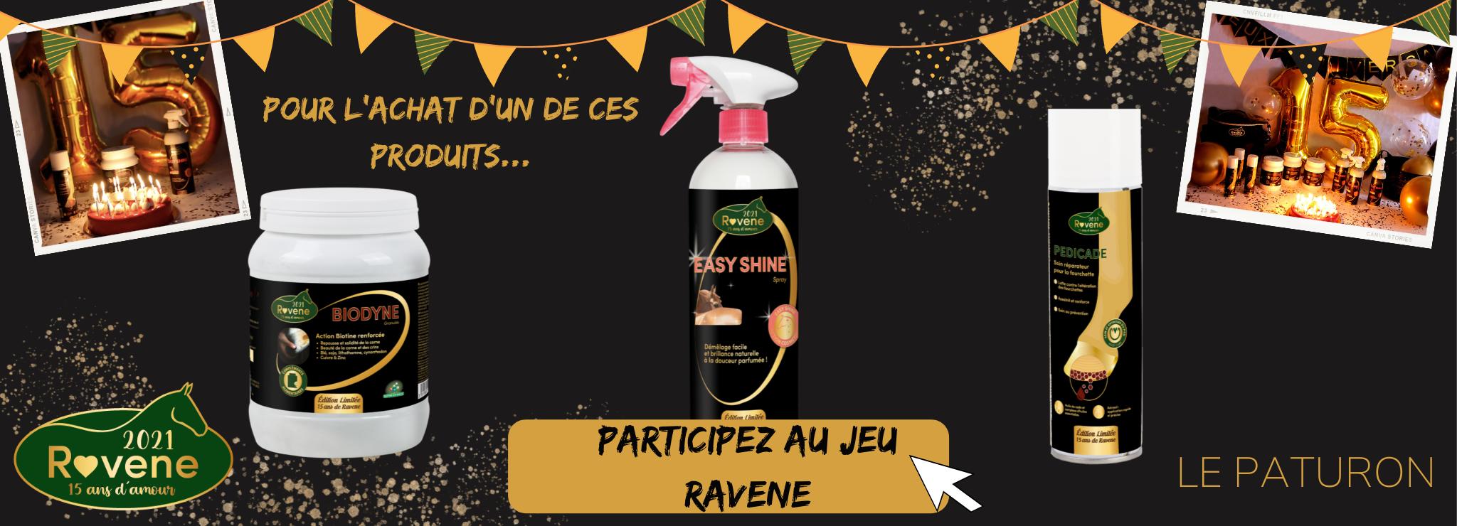 Jeu anniversaire 15 ans Ravene - Le Paturon