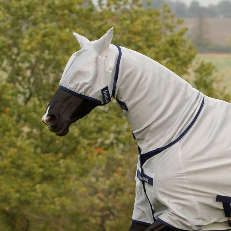 masque anti mouche cheval freedom bucas - Le Paturon