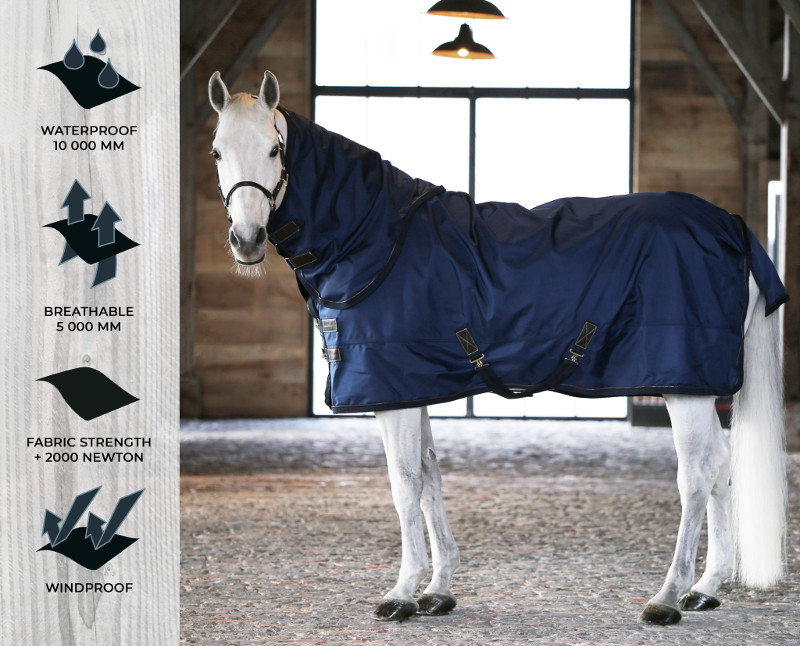Kentucky all weather 300 gramme, chemise cheval couverture imperméable