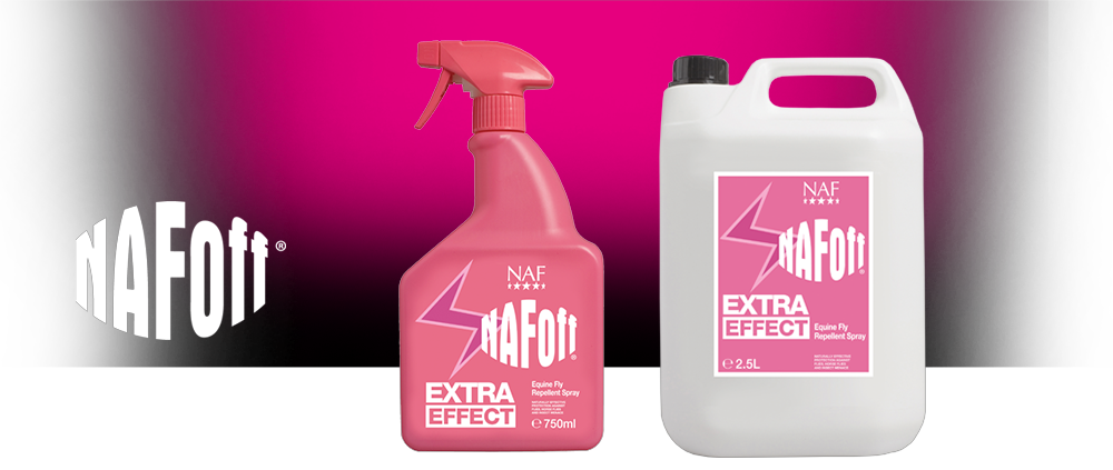 Naf Off Extra Effect - Anti mouche cheval - Le Paturon