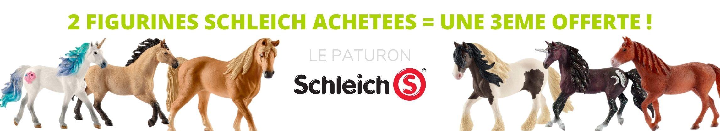 Promo Schleich chevaux